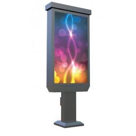 """47"""" Outdoor Digital Pedestal Kiosk - Non Touch Screen"""